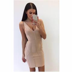Beez bandage V lõikega kleit