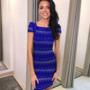 Sinine tugevast bandage kangast kleit