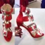 Punased kividega kingad