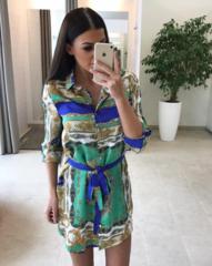 Kirju casual kleit