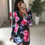 Must lilleline pintsak-kleit