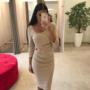 Beezikas kroogitud midi kleit