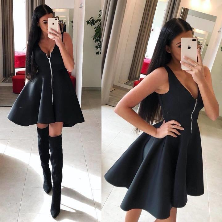 Must lukuga high low kleit