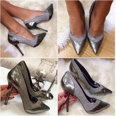 Hõbedased klassikalised kingad