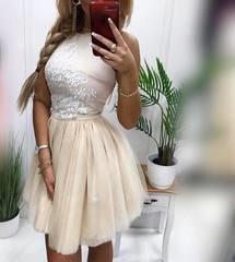 Beez puhvis seelikuosaga skater kleit