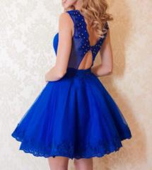 Erksinine luksuslik skater kleit