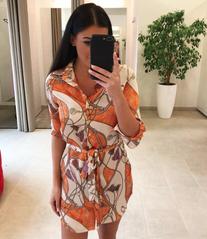 Oranzikas casual kleit
