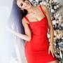 Punane bandage kleit
