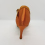Ladina tantsukingad - normaalsele jalale, beezi värvi satiin, tikk konts 7,5 cm