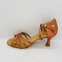Ladina tantsukingad - normaalsele jalale, beezi värvi satiin, ladina konts 5 cm