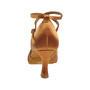 Ladina tantsukingad – satiin, beez, flare konts 6.5 cm