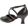 Peotantsukingad - nahk, must, normaalsele jalale, Latino konts 5 cm