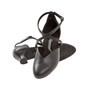 Peotantsukingad - nahk, musta värvi, spanish konts 4.2 cm