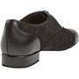 Meeste tantsukingad - must nahk\seemisnahk, normaalsele jalale, konts 2cm