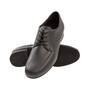 Meeste tantsukingad - musta värvi nahk, laiale jalale, konts 2cm