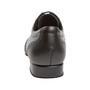 Meeste tantsukingad - must nahk\hall seemisnahk, laiale jalale, konts 2cm