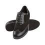 Meeste tantsukingad - must nahk\seemisnahk, laiale jalale, konts 2 cm