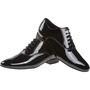 Meeste tantsukingad - musta värvi lakk, normaalsele jalale, konts 2 cm
