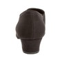 Naiste trennikingad -  musta värvi microfiber, normaalsele jalale, Cuban konts 3,7 cm