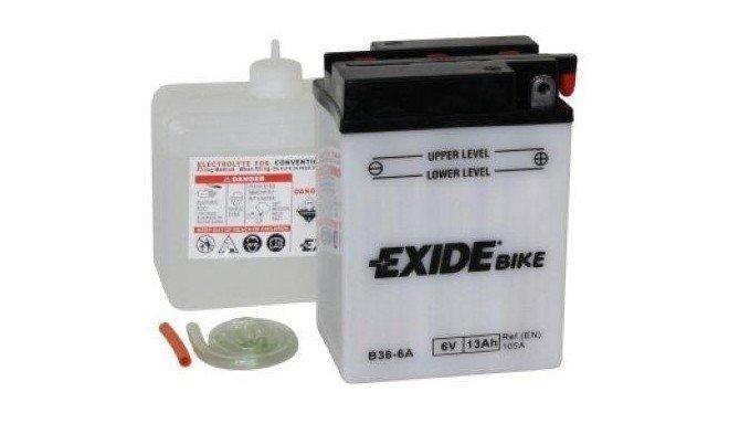 Exide B38-6A 13Ah 6V motorcycle battery