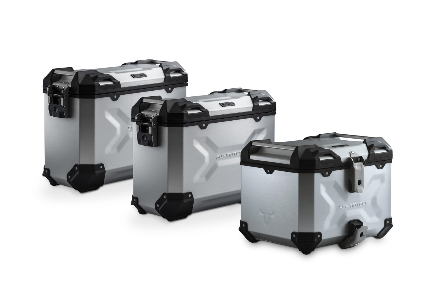 SW-Motech Adventure luggage set (silver) Honda CRF1000L Adventure Sports (18-)