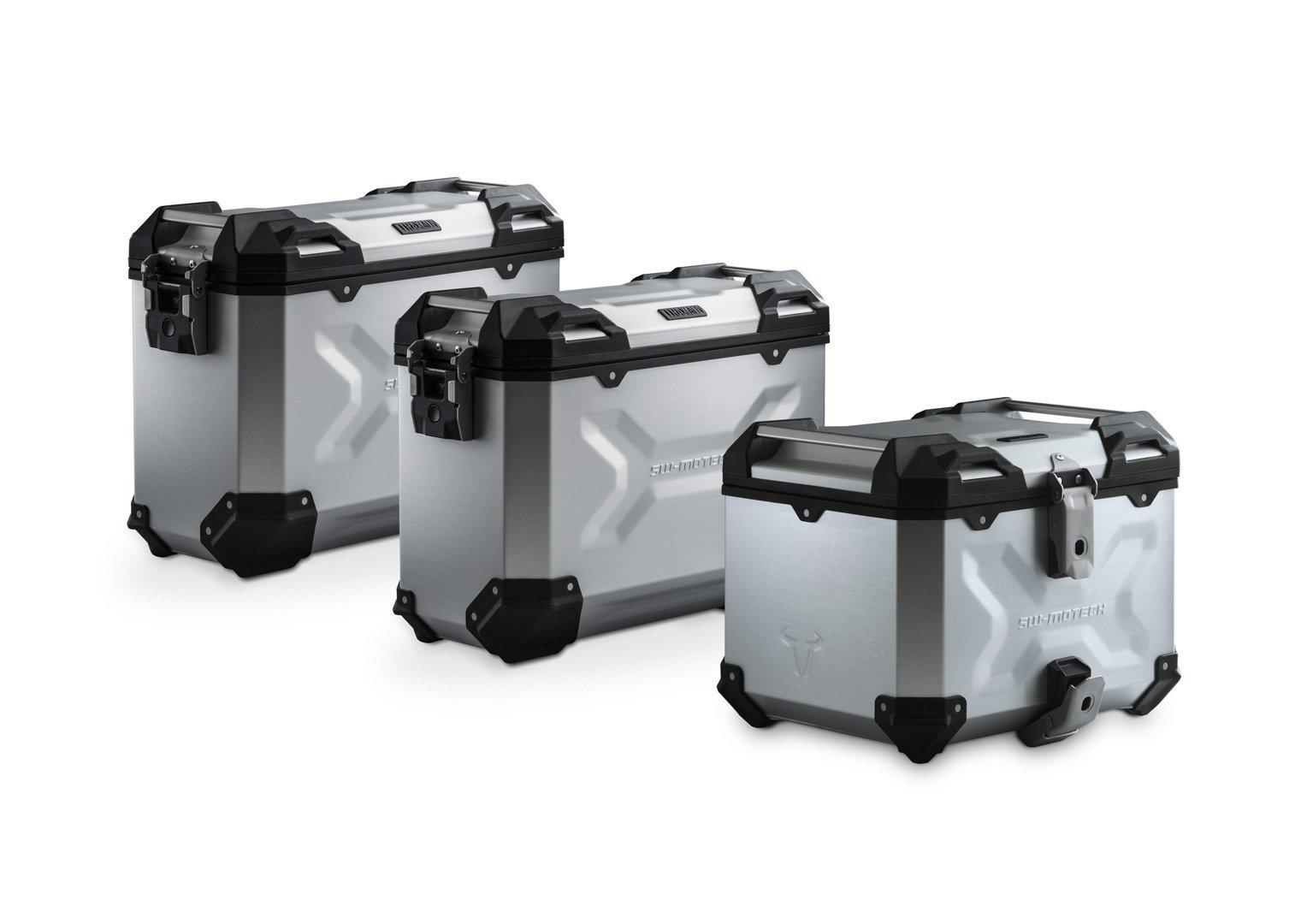 SW-Motech Adventure luggage set (silver) KTM 1050/1090/1190Adv, 1290SAdv/R/S/T