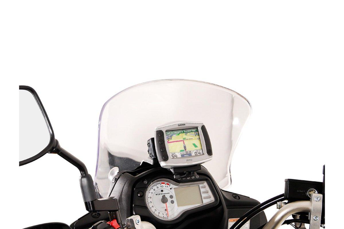 SW-Motech GPS mount for cockpit (black) Suzuki DL 650 V-Strom (11-16)