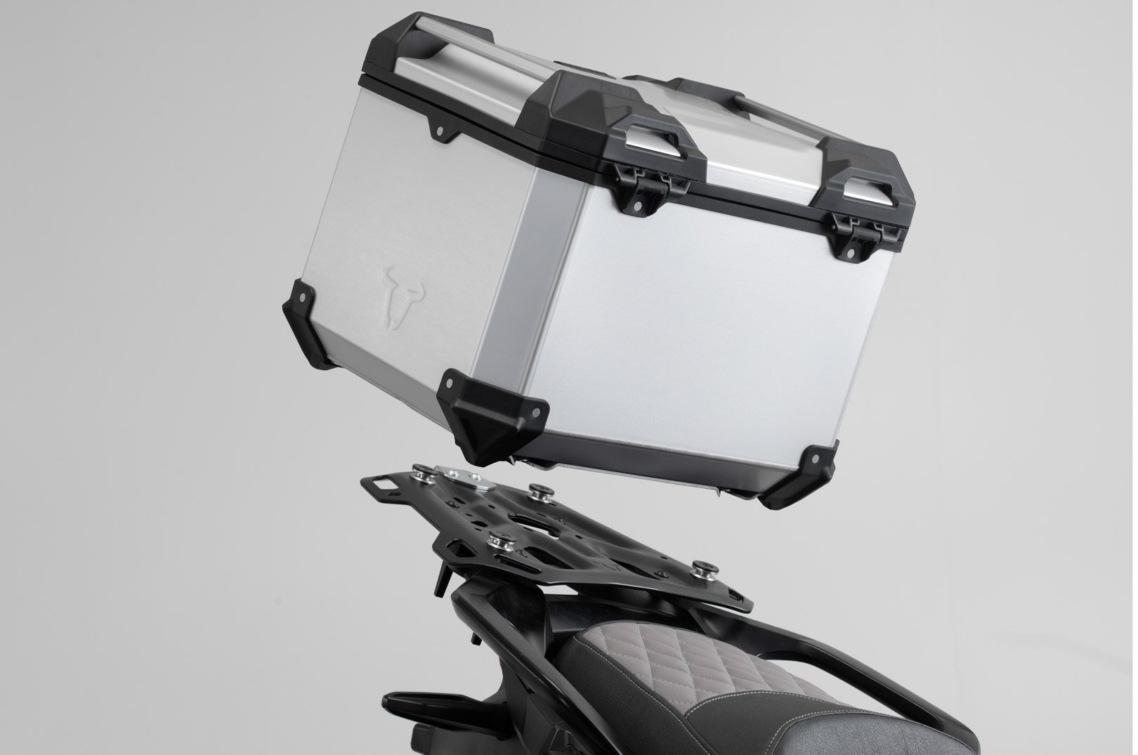 SW-Motech TRAX ADV top case system (silver) BMW R1200GS LC (13-)
