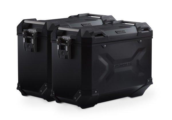 SW-Motech TRAX ADV aluminium case system (black) 45/45L Yamaha Tenere 700 (19-)