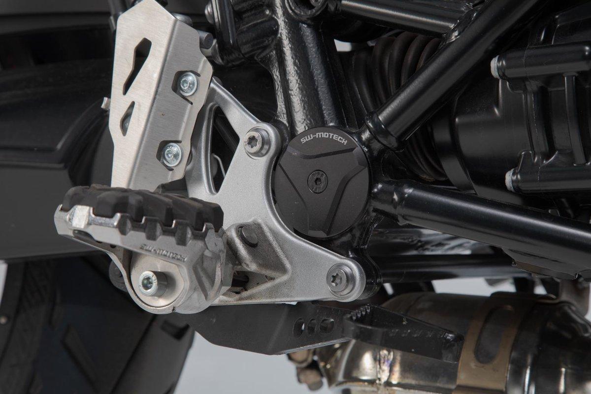 SW-Motech Frame cap set (black) BMW R nineT models (14-)