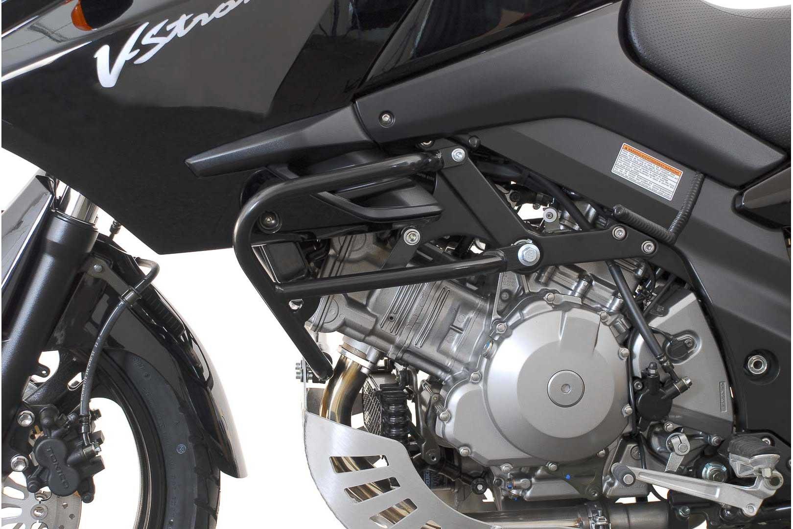 SW-Motech crash bar (black) Suzuki DL 1000 V-Strom / Kawasaki KLV 1000