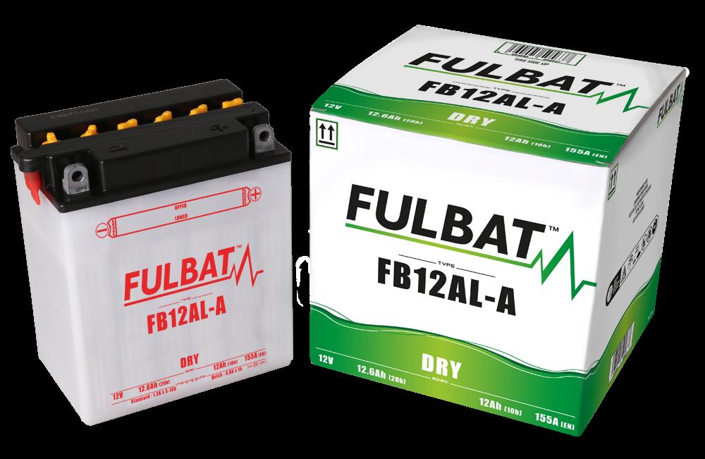 Fulbat YB12AL-A 12Ah Motorcycle Battery