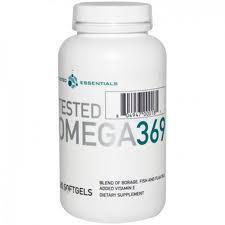 Tested Omega 3 6 9 180 kapslit