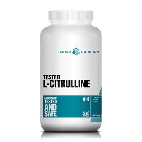 Tested L-Citrulline Malate 240 Kapslit