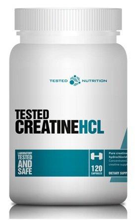 Tested Kreatiin HCL 120 Kapslit