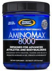 Gaspari Nutrition's AMINOMAX 8000 350 Tabletti