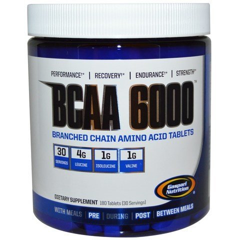 Gaspari Nutritioni BCAA 6000 180 Tabletti