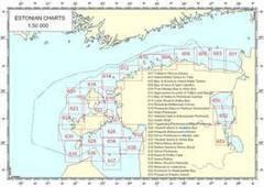 Eesti Navigatsioonikaardid 1:100 000