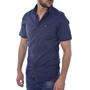 Kaporal, vīriešu krekls ar īsām piedurknēm, MOGI, zils