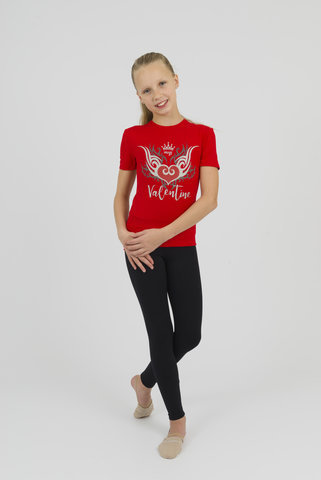 Girls Miss Valentine Tee